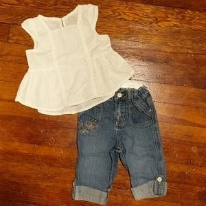 Girls Capri outfit